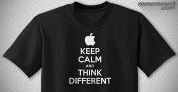 Apple | Keep Calm and Think Different